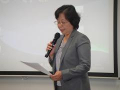 15. Welcome address by Dr. Sawako Hanyu, President, Ochanomizu University